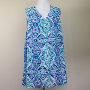 Violet + Claire Sleeveless Blouse 1x